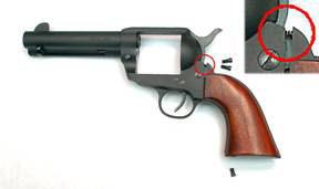 Slicking Up a Pietta 1873 Single Action Revolver
