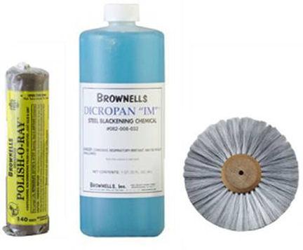 Wheel Polishing Kit >> Refinishing a .45 ACP Conversion Cylinder with Brownells Dicropan IM®