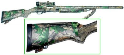 Adding Camouflage Using Hydrographics