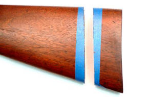 Modifying a Winchester 97 for Competition